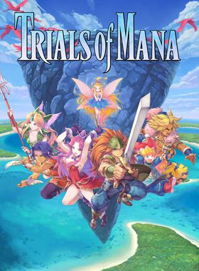 Trials of Mana Key Art