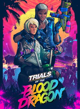 Trials of the Blood Dragon Key Art