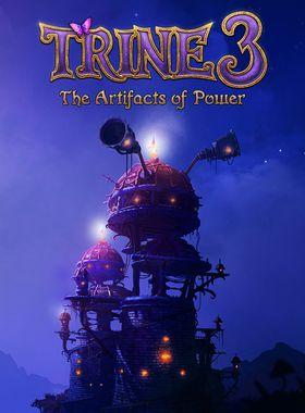 Trine 3: The Artifacts of Power Key Art