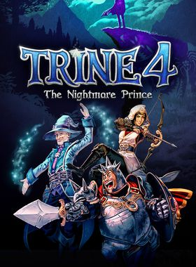 Trine 4: The Nightmare Prince Key Art