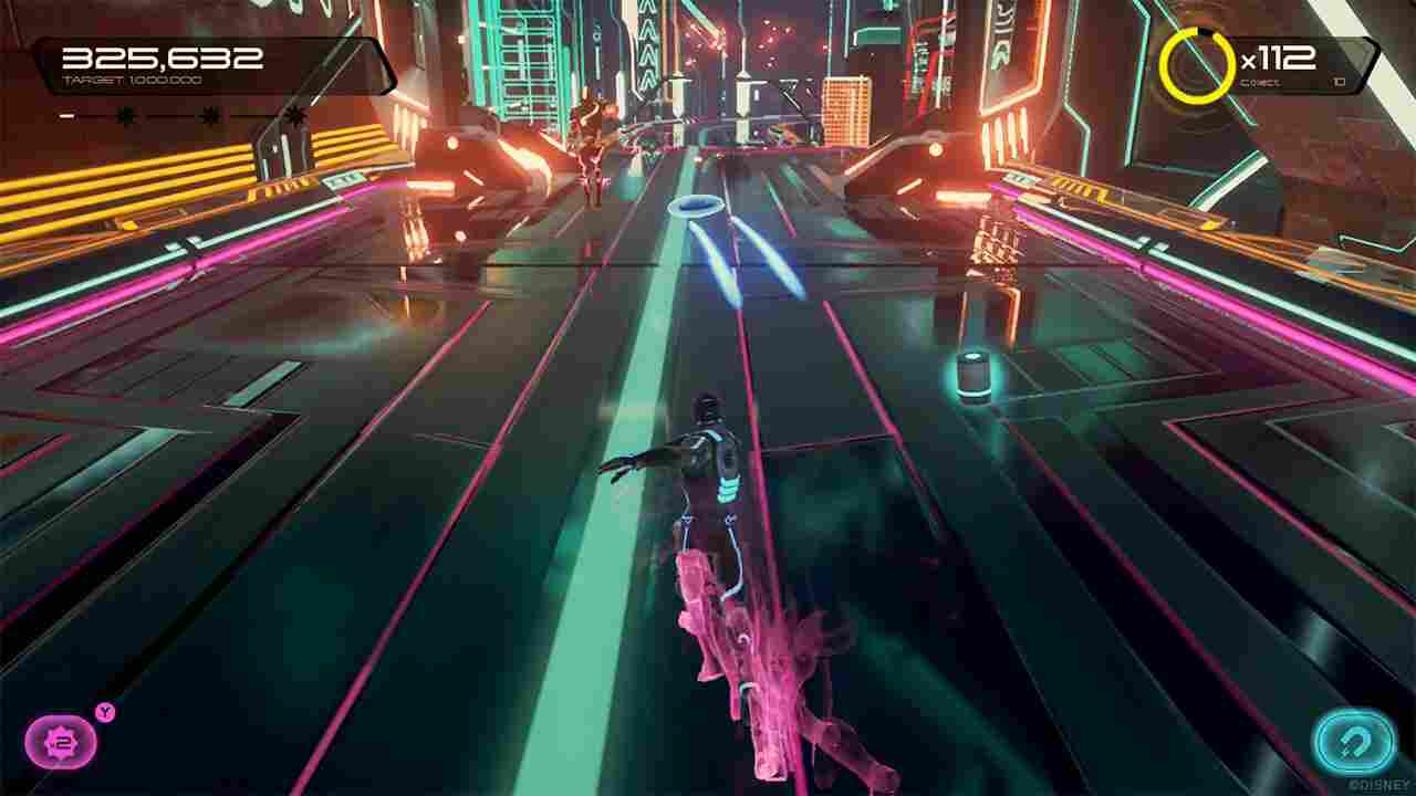 Tron Run/r Background Image