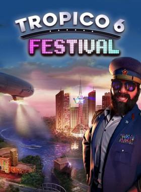 Tropico 6 - Festival Key Art