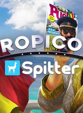 Tropico 6 - Spitter Key Art