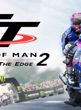 TT Isle of Man Ride on the Edge 2 Key Art