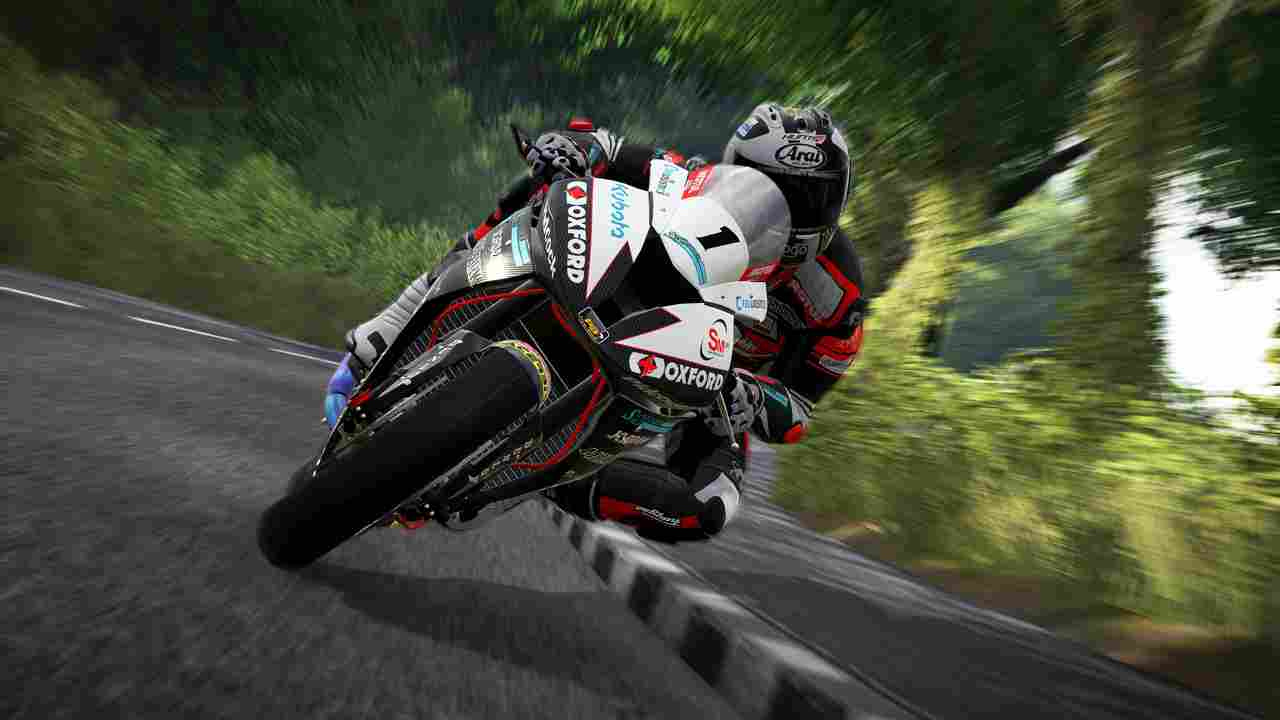 TT Isle of Man: Ride on the Edge Background Image