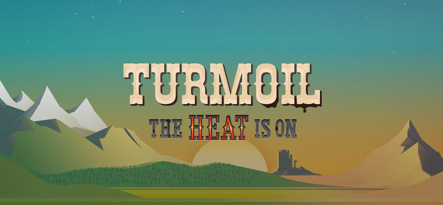 Turmoil - The Heat Is On Background Image