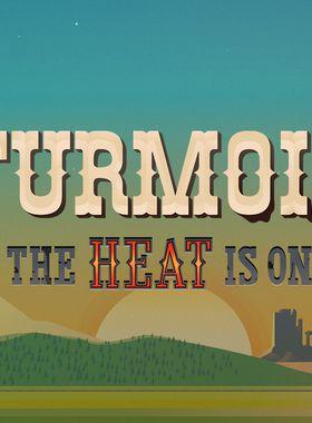 Turmoil - The Heat Is On Key Art