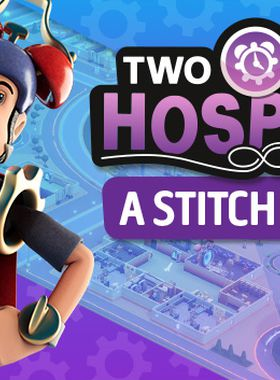 Two Point Hospital: A Stitch in Time Key Art