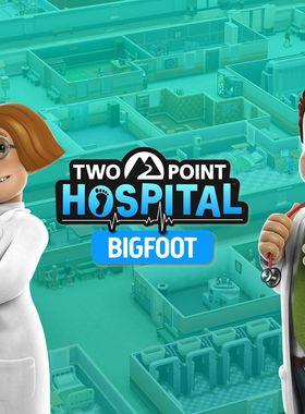 Two Point Hospital: Bigfoot Key Art