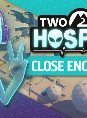 Two Point Hospital: Close Encounters Key Art