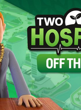 Two Point Hospital: Off the Grid Key Art