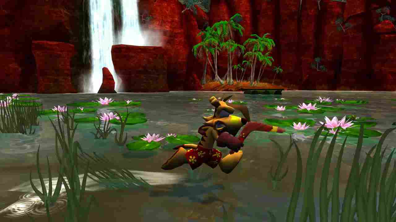 Ty the Tasmanian Tiger Background Image