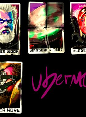 Ubermosh Vol.7 Key Art