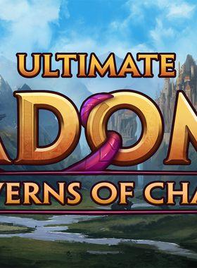 Ultimate Adom - Caverns of Chaos Key Art
