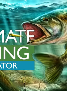 Ultimate Fishing Simulator Key Art