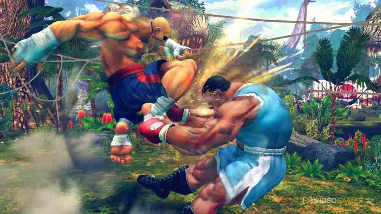 Ultra Street Fighter IV Background Image
