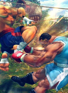 Ultra Street Fighter 4 Key Art