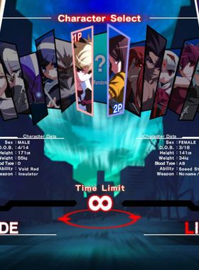 UNDER NIGHT IN-BIRTH Exe:Late Key Art