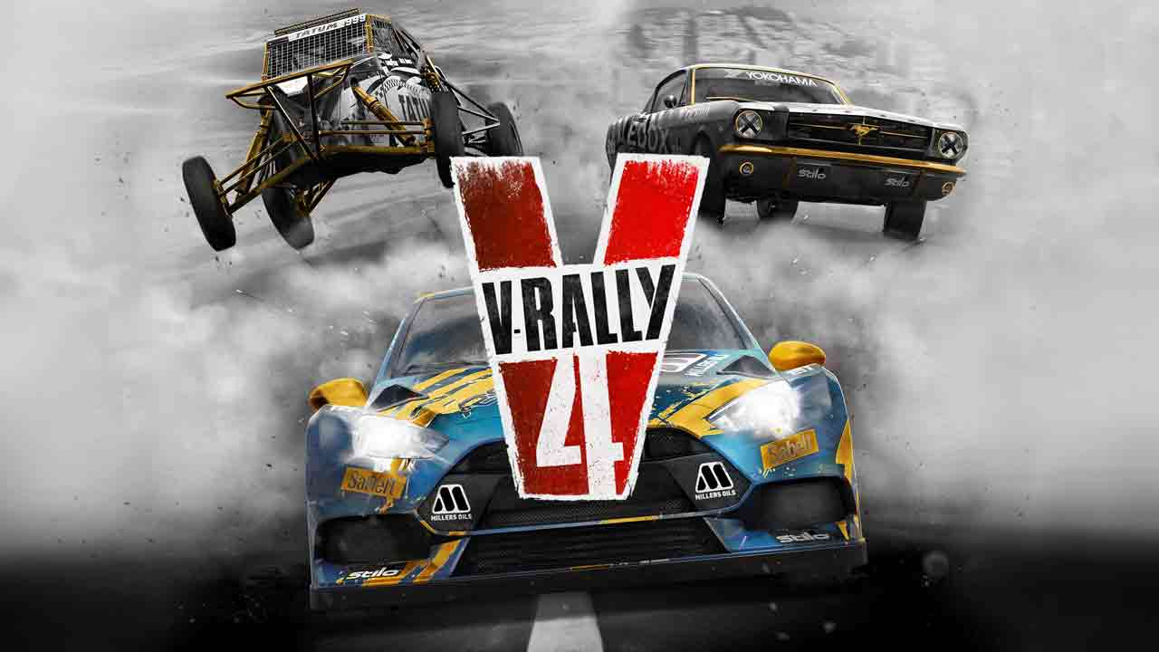 V-Rally 4 Background Image