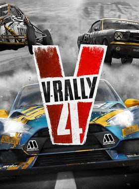 V-Rally 4 Key Art