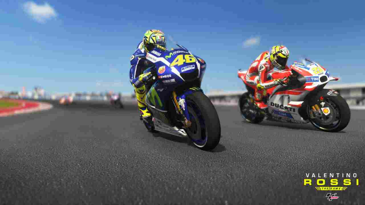 Valentino Rossi The Game Background Image