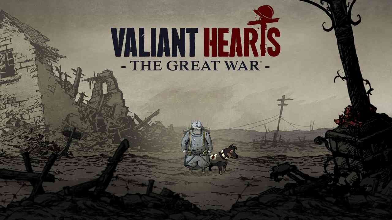 Valiant Hearts: The Great War Background Image