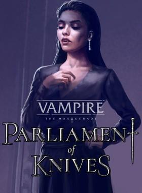 Vampire: The Masquerade - Parliament of Knives Key Art