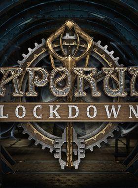 Vaporum: Lockdown Key Art