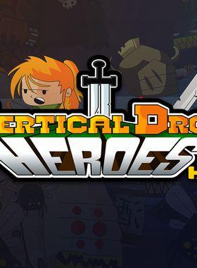 Vertical Drop Heroes HD Key Art