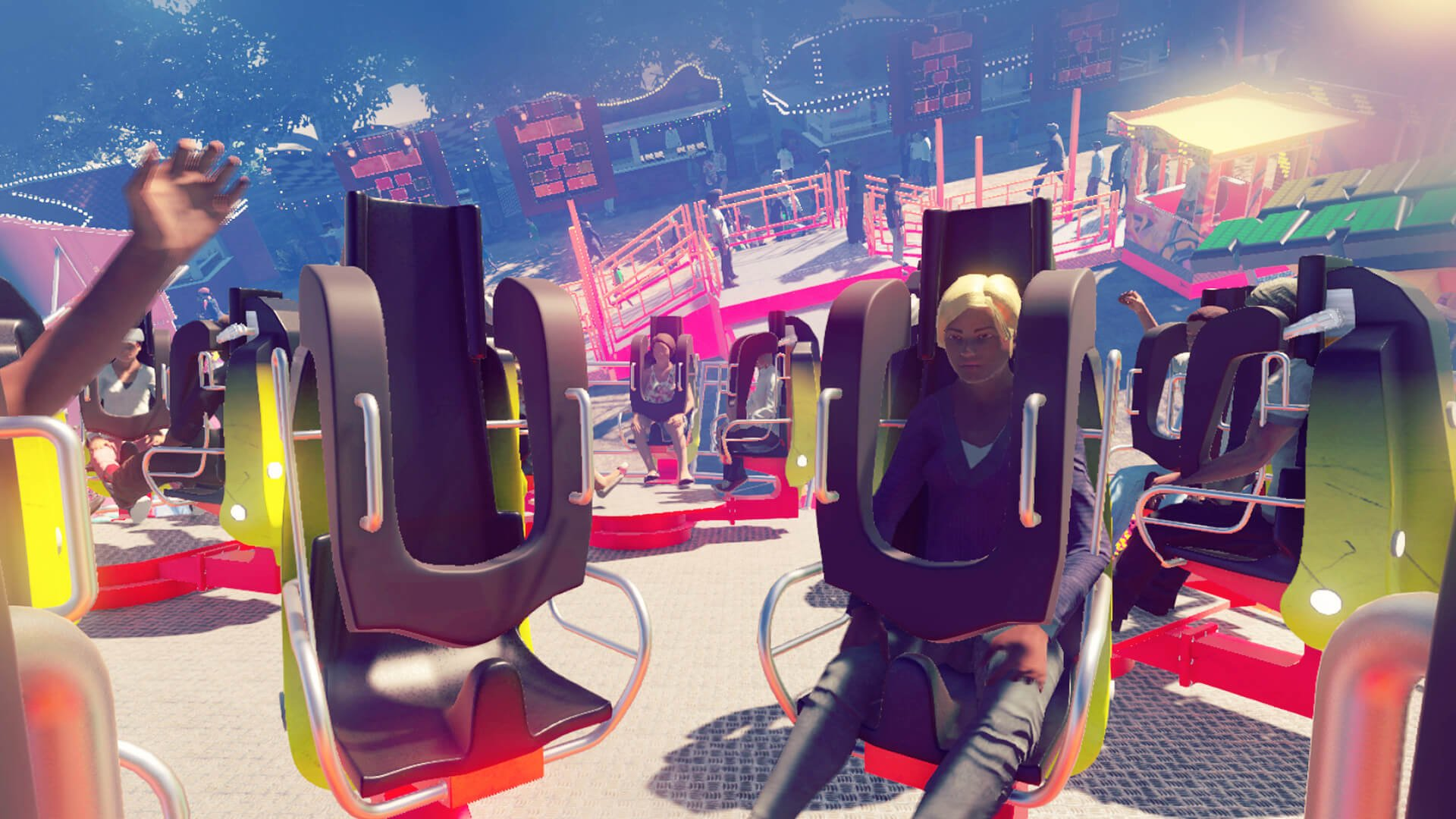 Virtual Rides 3 - Funfair Simulator Video