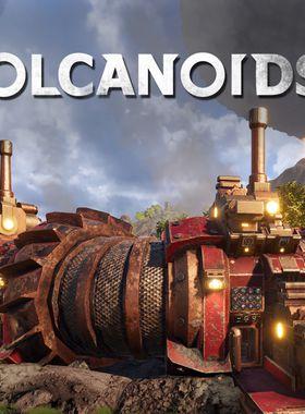 Volcanoids Key Art