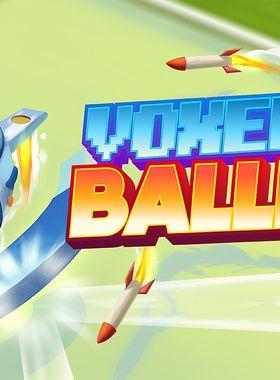 Voxel Baller Key Art