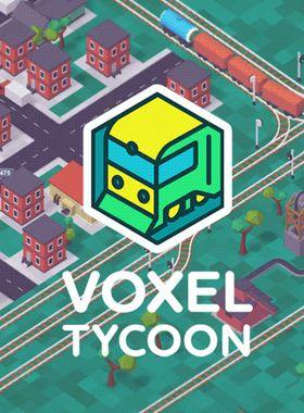 Voxel Tycoon Key Art