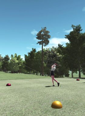 VR Golf Online Key Art