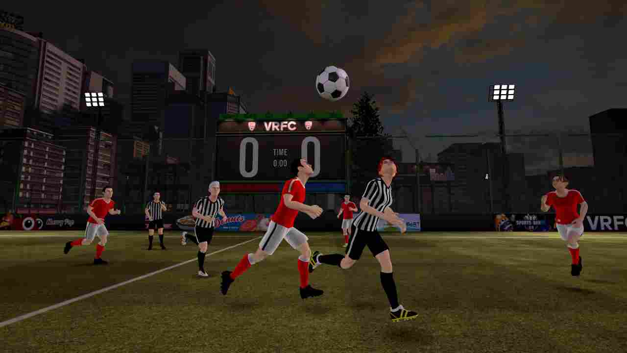 VRFC Virtual Reality Football Club Background Image