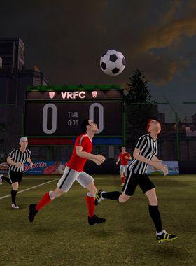 Virtual Reality Football Club Key Art