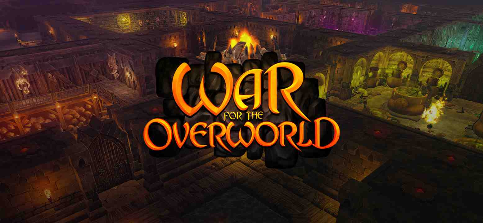 War for the Overworld Background Image