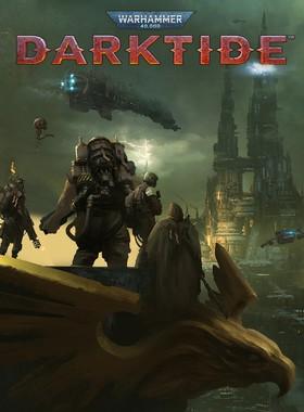 Warhammer 40,000: Darktide Key Art