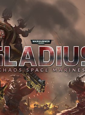 Warhammer 40000: Gladius - Chaos Space Marines Key Art