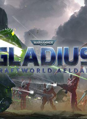Warhammer 40,000: Gladius - Craftworld Aeldari Key Art