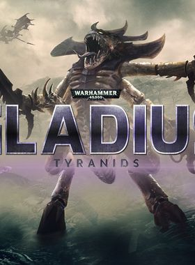 Warhammer 40000: Gladius - Tyranids Key Art
