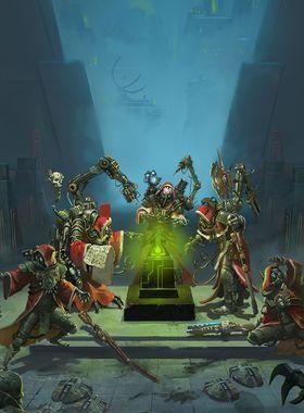 Warhammer 40000: Mechanicus Key Art
