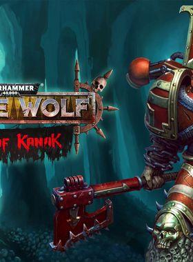 Warhammer 40000: Space Wolf - Fall of Kanak Key Art