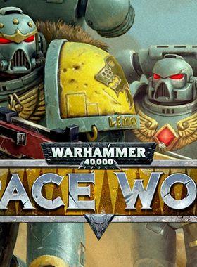 Warhammer 40,000: Space Wolf Key Art