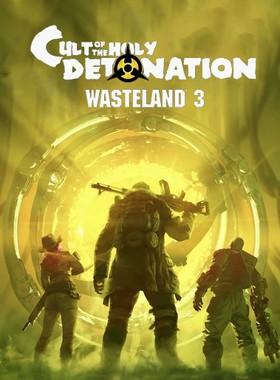 Wasteland 3: Cult of the Holy Detonation Key Art