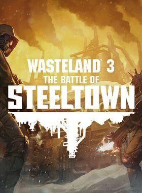 Wasteland 3: The Battle of Steeltown Key Art