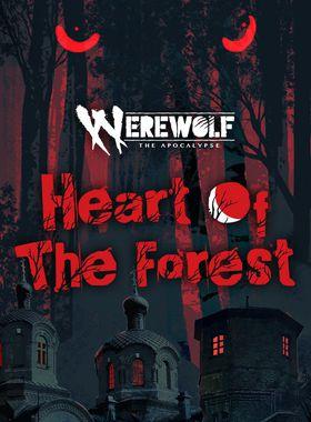 Werewolf: The Apocalypse — Heart of the Forest Key Art