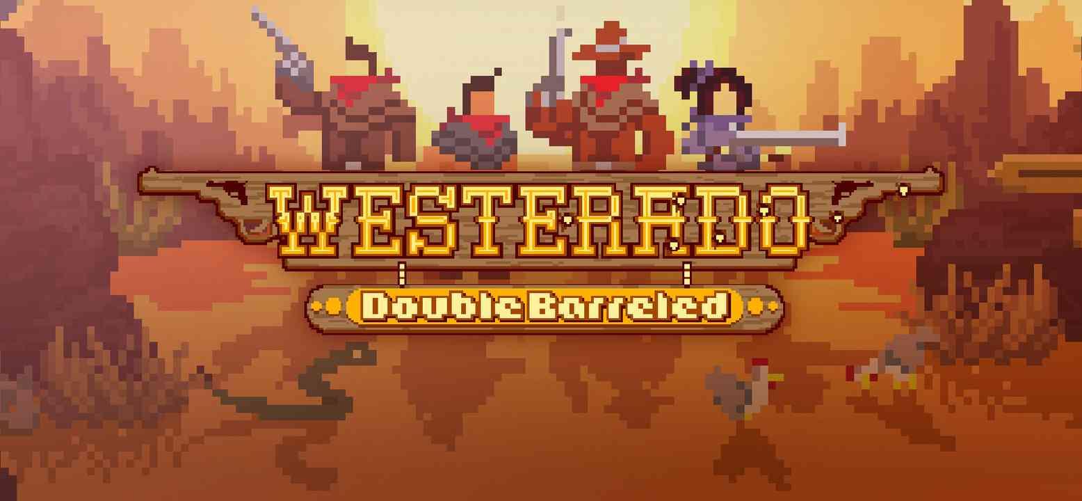Westerado: Double Barreled Background Image
