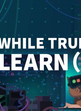 while True: learn() Key Art