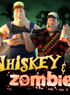 Whiskey & Zombies: The Great Southern Zombie Escape Key Art